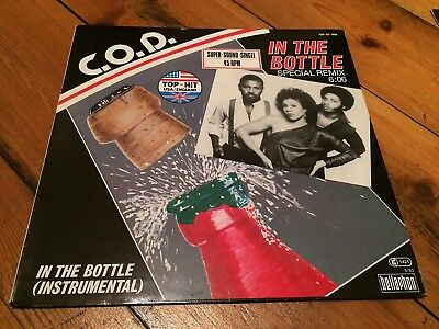 """12"""" Maxi Single C.O.D. – In The Bottle (Special Remix)"""