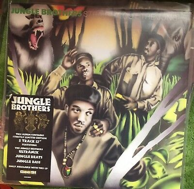 The Jungle Brothers Straight Out The Jungle Original Pressing Vinyl LP Record