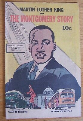 1957/58.Martin Luther King and the Montgomery Story COMIC original not repro