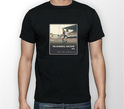 Football Derby County AMF T Shirt Casuals Retro Away Days Against Soccer Gift