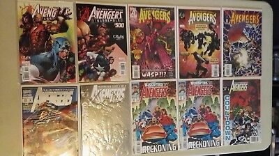 Marvel Comics AVENGERS Mixed lot of 10pcs NM Combined Shipping Discount