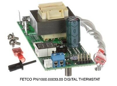 "Fetco #1000.00033.00 Assembly Digital Thermostat 110-120Vac ""New"""