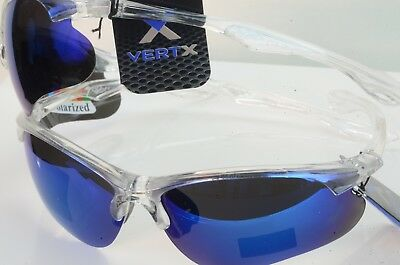 VERTX Premium Sport POLARIZED  Sunglasses CYCLING,DRIVING  New Wrap Around 5026