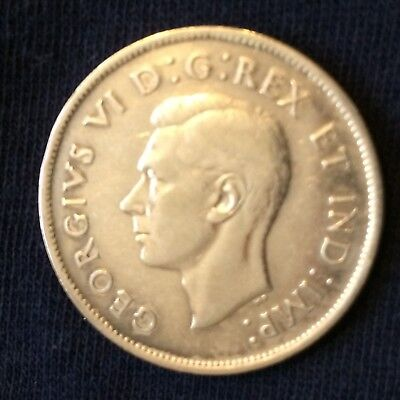 1938 Canada .50 cents ... low mintage of 192,018 ... nice coin