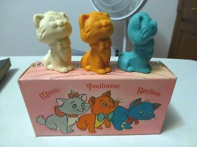 AVON ARISTOCAT KITTENS Walt Disney Soap Set of 3 Vintage w/ Original Box Unused