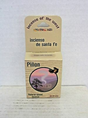 Incienso Pinon Brick Cones - Natural Wood Incense