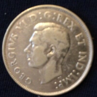 1938 Canada .50 cents ... low mintage of 192,018 ... nice detail