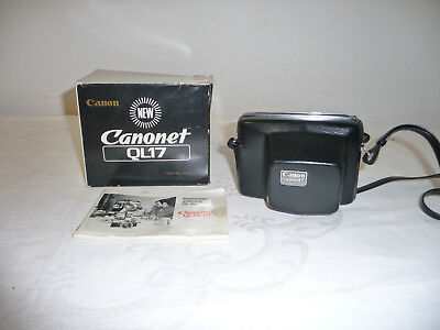 Canon Canonet QL17, sehr guter Zustand canonLens 40 mm 1:1,7