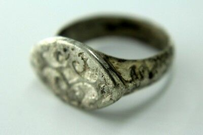 MEDIEVAL SOLID SILVER ENGRAVED RING. OTTOMAN EMPIRE..   0a228