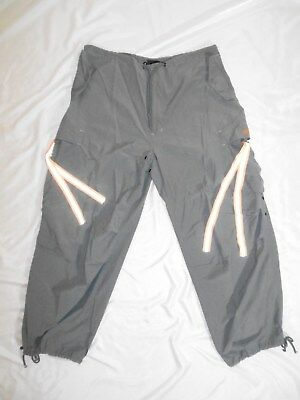 Caffeine Gray Cargo Raver medium baggy pants. Vintage