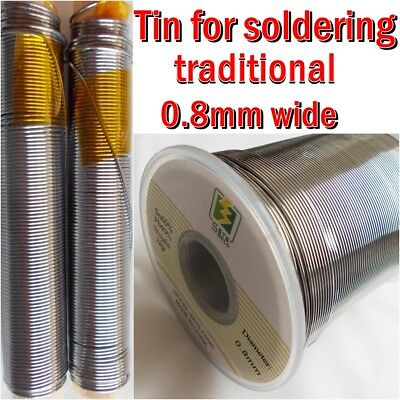 Solder tin soldering 0.8mm  electrical electronic  cables  50g  100g 200g 500g