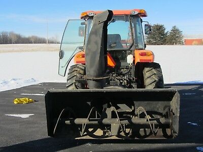 "New Holland Snow Blower 72"" Wide Hydraulic Chute Rotator Very Good Condition"