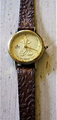 SALE Ladies Lorus Gold Coin Mickey Mouse Watch MINT