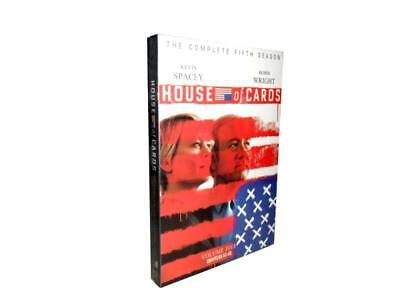 House of Cards: The Complete Fifth Season 5 (DVD, 2017, 4-Disc Set)