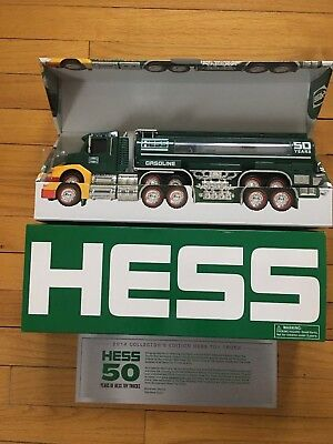 Hess 50th anniversary collectable truck, new mint condition