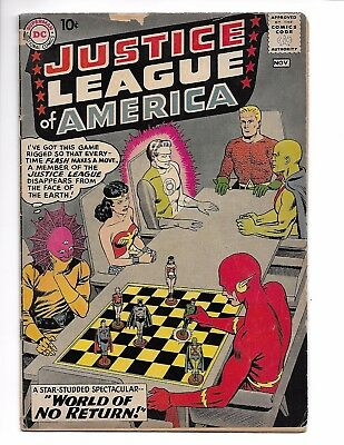Justice League of America 1 Key Issue Aquaman Wonder Woman Flash JLA