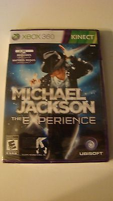 *new* Xbox 360 Michael Jackson The Experience *sealed* Ships Fast!