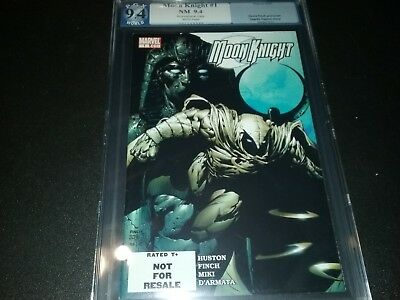 Moon Knight #1 Pgx Graded 9.4 Not Cgc Cbcs Ultra Rare Rrp Variant Finch 2006