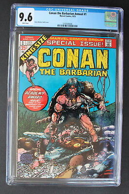 CONAN The Barbarian ANNUAL #1 Barry Windsor-Smith 1973 REH King Size CGC NM+ 9.6