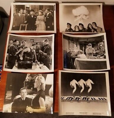 Lot of (6) Vintage 1960's Movie Stills