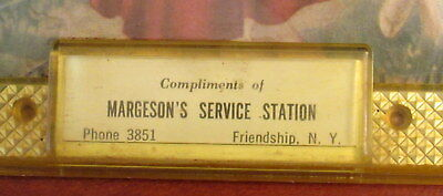 antique advertising thermometer Margeson's Service Station Friendship, NY 3851