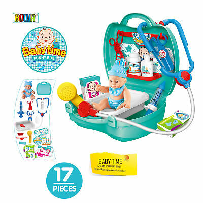 Baby Kids Girls Tool Kit Box Play House Toy Baby Time Funny Case Gift