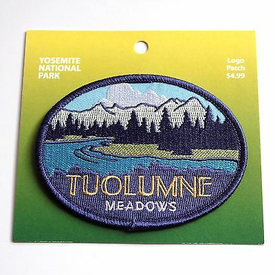 Official Yosemite National Park Souvenir Patch Tuolumne Meadows California