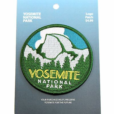 Official Yosemite National Park Souvenir Patch Half Dome California Scrapbooking