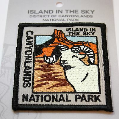 Official Canyonlands National Park Souvenir Patch - Island in the Sky Moab Utah