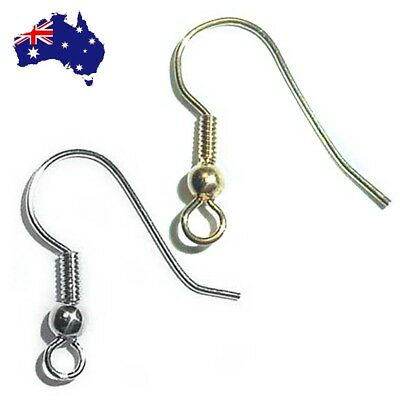 Bulk Ear Wires Surgical Steel Brass Gold French Hook Earwires Ear Wire
