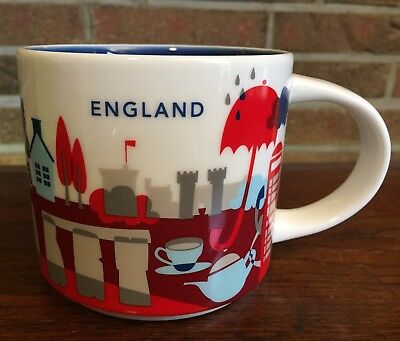 Starbucks You Are Here Collection England New NEU mit SKU Nummer