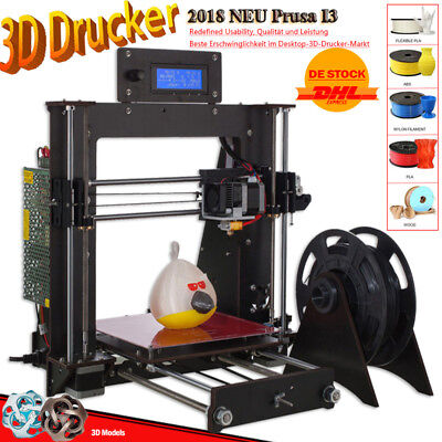 Neueste Ver A8 3D Printer DIY High Precision Reprap Prusa i3 3d Drucker For Anet