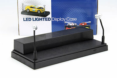 Single Cabinet with 2 Moving LED LAMPS FOR MODEL CARS ON A Scale of 1: 24,1: 4