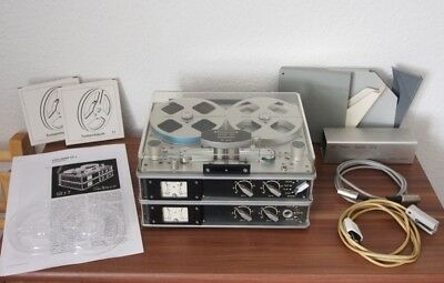 STELLAVOX SQ 7 QUADROCONIC ! STEREO ! ULTRA RAR ! with LEATHER BAG ! From 70s !