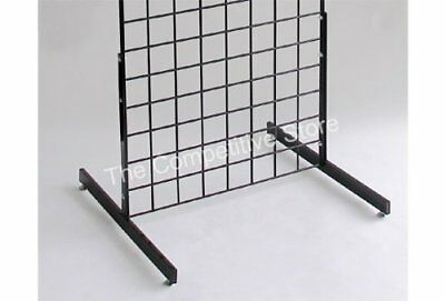 T-Shape Gridwall Panel Legs Display with Levelers - Box of 3 Pairs 6 Individual