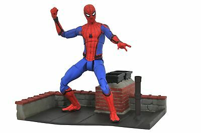 "Marvel Select Spider-Man Homecoming 7"" Diamond Toys Action Figure"