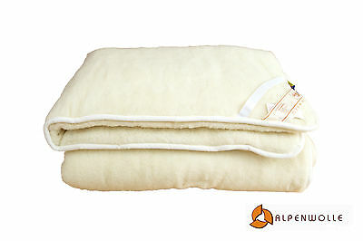 Mattress Cover Double, Virgin Wool Bed Pad, Slipcover 100% Wool