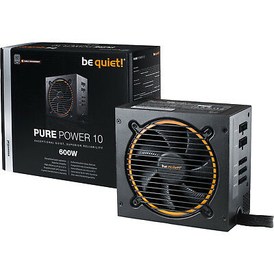 be quiet! Pure Power 10 CM 600W Netzteil Kabel Management