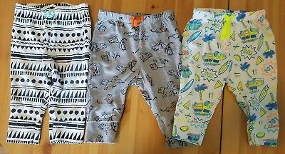 lot of 3 baby boy 6-9 mo Cat and Jack pants