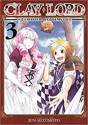 Clay Lord: Master of Golems Vol. 3, Suzumoto, Jun, Excellent Book