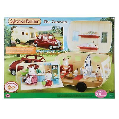 Sylvanian Families The Caravan Holiday Home Play Set Toy NEW GIFT