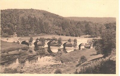 carte postale - Luxembourg - CPA - Chiny - Pont Saint-Nicolas