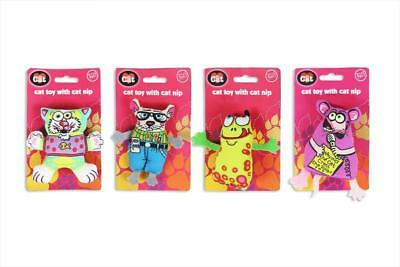 Cat Toy With Catnip Mouse Frog Lion Playtime Interactive Kitten Play Toys