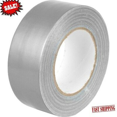 1x Duck Silver strong Duct Gaffa Gaffer Waterproof Cloth Tape 48mm 2'' 50m