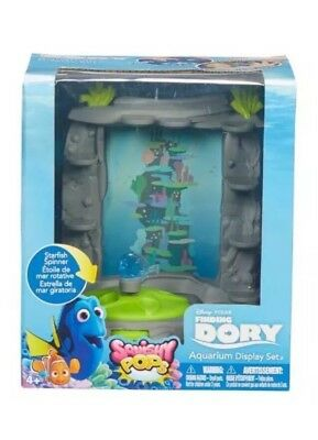 FINDING NEMO DORY squishy pop aquarium display playset play set NEW