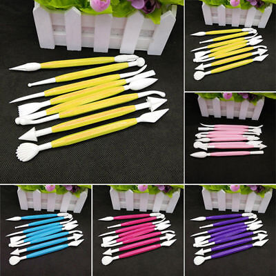 8Pcs Cake Cupcake Decorating Equipment Tool Modelling Set Sugarcraft Craft Icing