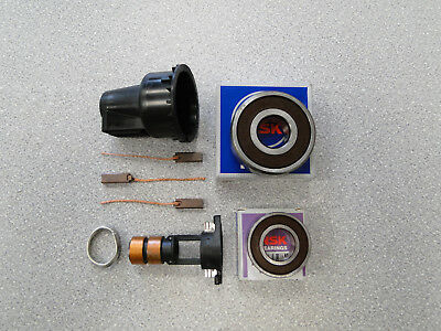 ARK114 NEW REPAIR KIT FOR BOSCH ALTERNATOR Bearings 6003 6303 Slip Ring Brushes