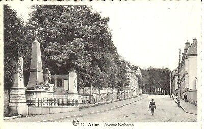 carte postale - Luxembourg - CPA - Arlon - Avenue Nothomb