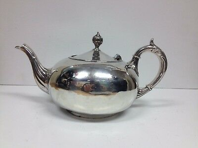 A Brilliant Victorian Silver Plated Teapot