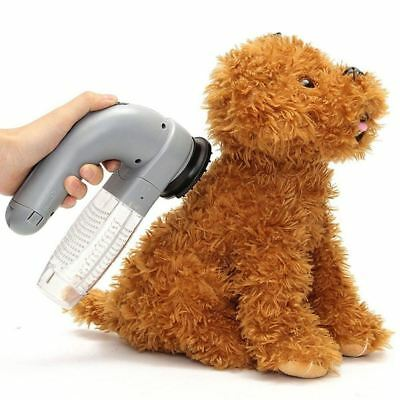 Useful Electric Pet Cat Dog Hair Fur Remover Animal Grooming Brush Trimmer Comb
